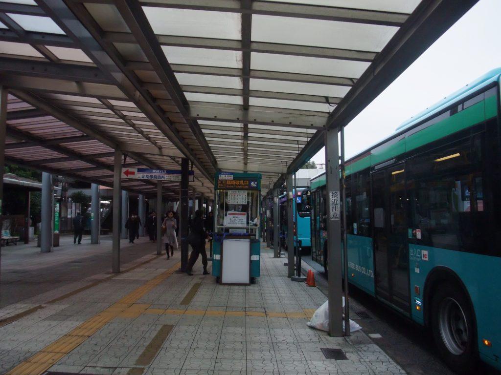 幕張本郷駅のバス用臨時改札